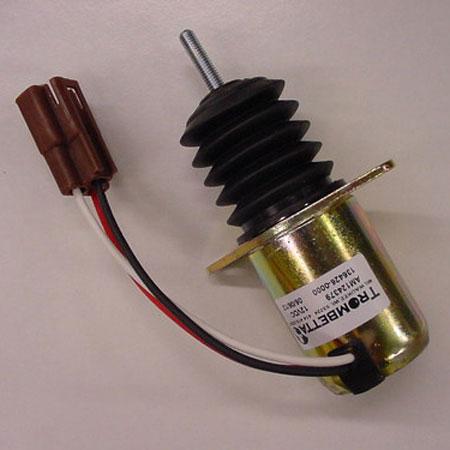 John Deere Fuel Shutoff Solenoid Am124379