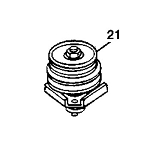 John Deere Blade Spindle Assembly - AM128729