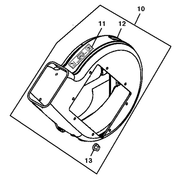John Deere Blower Housing - AM129746