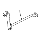 John Deere Front Draft Arm Pivot - AM145478