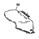 John Deere Hinged Discharge Cute - AM135168