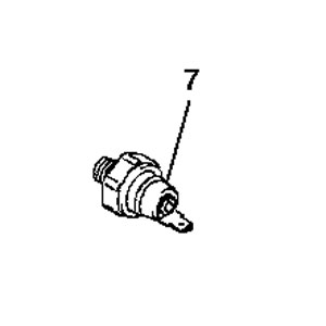 John Deere Engine Oil Pressure Switch - MIU14442
