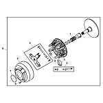 John Deere Primary Drive Clutch - AM138485