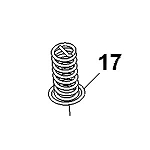 John Deere Seat Suspension Spring - M163357