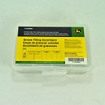 John Deere 21-piece SAE Grease Fitting Assortment - TY22569