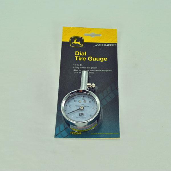 John Deere Tractor Tire Pressure : John deere dial tire pressure gauge psi ty