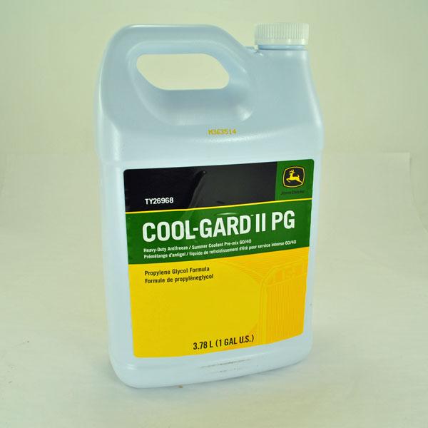 John Deere Gator Accessories >> John Deere Cool-Gard II PG Heavy-Duty Antifreeze/Summer Coolant Pre-Mix Gallon - TY26968