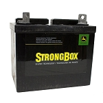 John Deere Dry Charge Battery - 12 Volt - BCI U1 - CCA 300 - TY25878 - Sulfuric Acid NOT Included