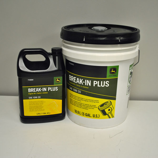 John Deere Gator >> John Deere Break-In Plus Special-Purpose Engine Oil - TY26661 - TY26663