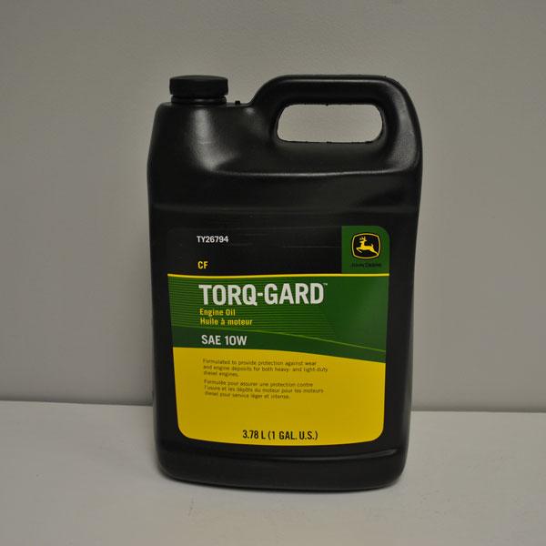 John Deere Sae 10w Torq Gard Cold Weather Engine Oil