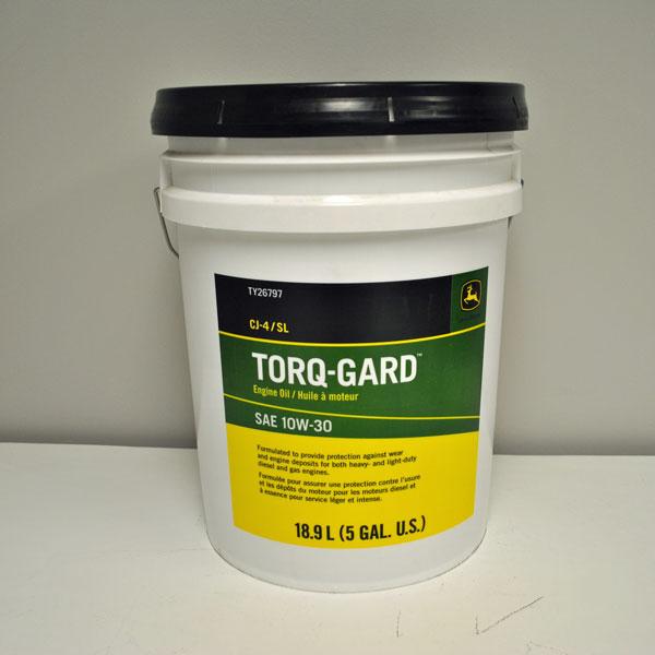 John Deere SAE 10W30 Torq-Gard Engine Oil - TY26797