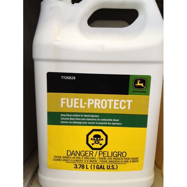 John Deere Fuel Protect Keep Clean Green Stripe Gallon