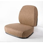 John Deere Brown Fabric HydraCushioned Seat Cushion Kit  - TY26549