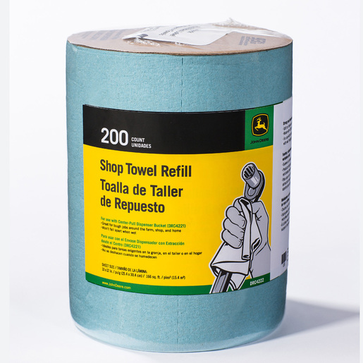 John Deere Gifts >> John Deere Shop Towels Bucket Refill Drc4222 P