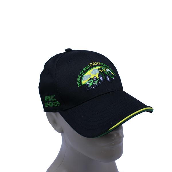 custom twill cap gps promo