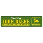 John Deere Signs and License Plates
