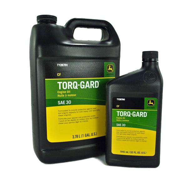 John Deere SAE 30 Torq-Gard Engine Oil Quart - TY26790