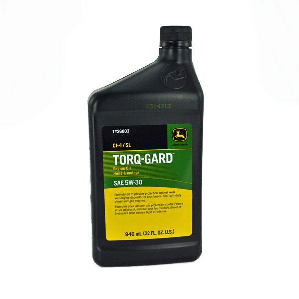 John Deere SAE 5W30 Torq-Gard Engine Oil - TY26803