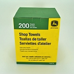 John Deere 200 Shop Towels in a Box - DRC4223-P