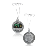 John Deere Limited Edition 2019 Pewter Christmas Ornament - 24th in Series - LP73722