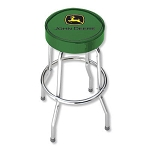 John Deere Green Garage Stool with Logo - 004767R01