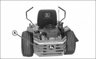 John Deere Model 717 Zero Turn Mower Parts on