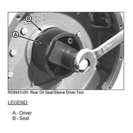 John Deere Rear Seal And Wear Sleeve Driver Jt30042