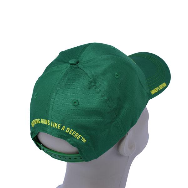 6dfd3f888b2b74 John Deere Green Owners Edition Cloth Cap - 231761