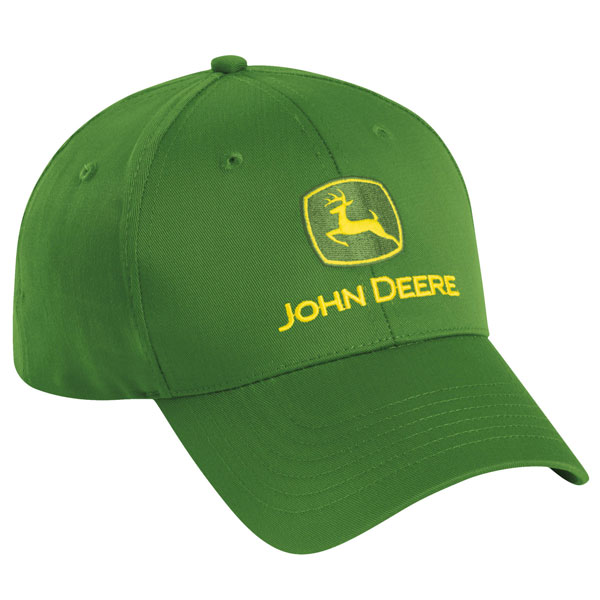 John Deere Authentic Green Twill Cap - AI77946
