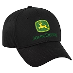 John Deere Authentic Black Twill Cap - 282867