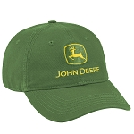 John Deere Washed Green Chino Cap - LP69218