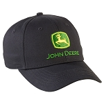 John Deere Black Nothing Runs Like a Deere Cap - LP69225