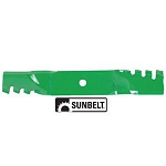 Predator Mulching Mower Blade for 46-inch John Deere Deck - B1PD1023