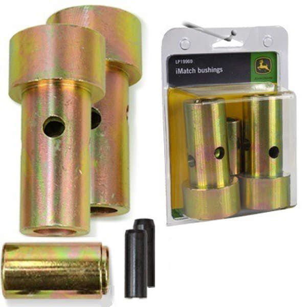 John Deere Imatch Quick Hitch Adapter Bushing Kit Lp19969