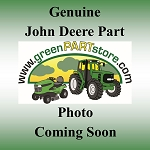 John Deere Black Bench Seat Back - AM142364