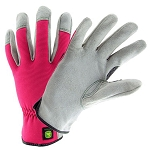 John Deere Ladies' Cowhide/Spandex Glove - LP42422 - LP42423