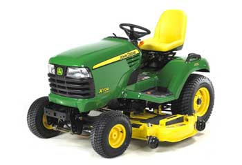 x724 parts for john deere lawn and garden tractors