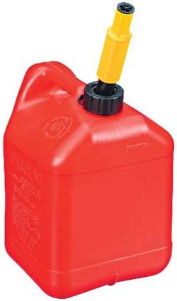 John Deere Two Plus Gallon Gasoline Can (CARB approved) - TY26263
