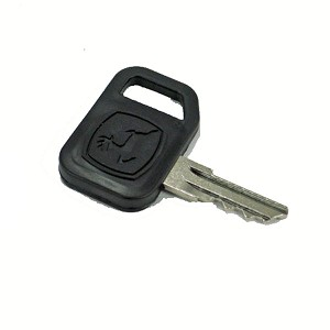John Deere Ignition Key with Padded Grip - AM131841