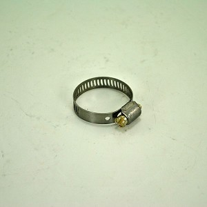 John Deere Worm Drive Stainless Steel Hose Clamp - TY22463 - 9/16-in thru 1-1/16-inch