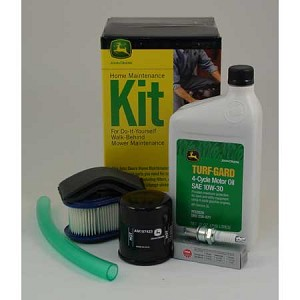 John Deere Home Maintenance Kit (K-Series, Kawasaki OHV with Oil Filter) - LG235