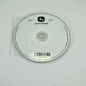 John Deere Operator's Manual on CD - OMTCU22669CD