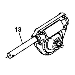 John Deere Rotor and Auger Drive Gear Case - AM142008