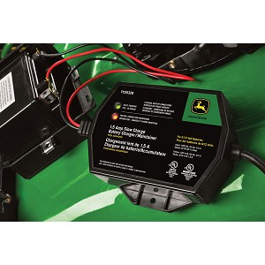 John Deere Automatic 1.5-AMP Battery Charger/Maintainer - TY26328