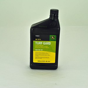 John Deere GF-3 5W30 Turf Gard 4-Cycle Motor Oil Quart  - TY25121
