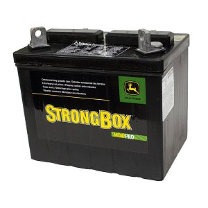 John Deere Dry Charge Battery - 12 Volt - BCI U1 - CCA 342 - TY25221 - Sulfuric Acid NOT Included