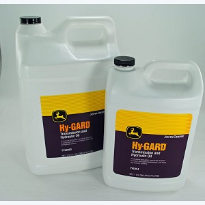 John Deere Hy-Gard Transmission and Hydraulic Oil - Gallons=TY6354 - 2.5-Gallons=TY22062 - 5-Gallons = AR69444