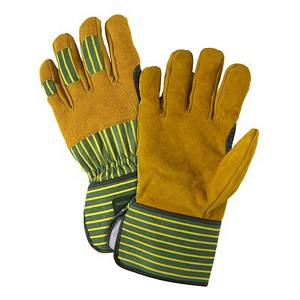 John Deere Mens Split Cowhide Palm Glove - LP42392 - LP42393
