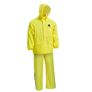 John Deere Men's Yellow Rain Suit - LP67400 - LP67398 - LP67399